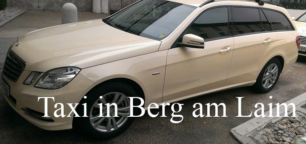 Taxi in Berg am Laim