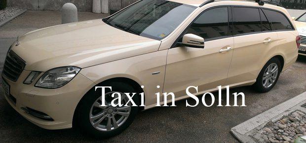 Taxi Solln München